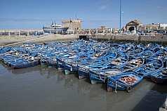 Hafen Marokko