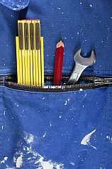 Meterstab/Stift/Schraubenschlüssel