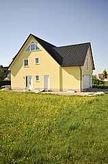 gelbes Haus, Garten