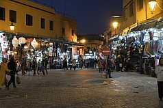 Marokko Marakesch Djemaa el Fna