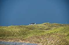 Haus am Strand in Irland