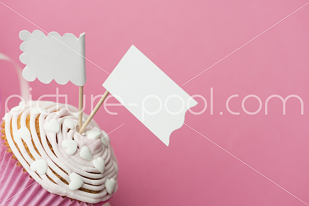 Cupcake in Rosa